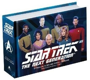 Star Trek: The Next Generation 365 by Paula M. Block and Terry J. Erdmann.