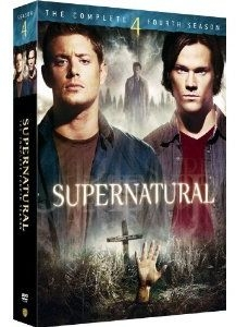 Supernatural: The Complete Fourth Season DVD boxset.