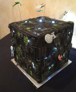 Borg wedding cake.