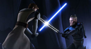 Jedi fight in Clone Wars s5.