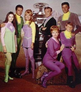 Lost in Space cast.