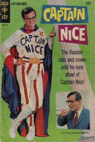Captain Nice TV retrospective.