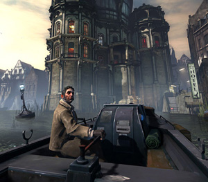 Dishonored steampunk game.