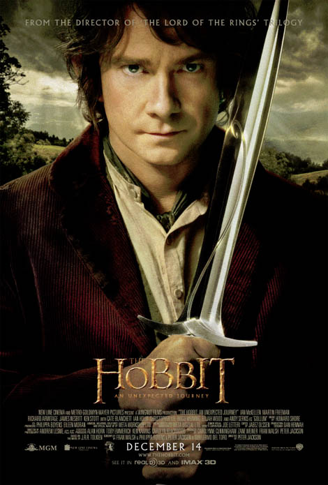 The Hobbit… here, son, 'ave this blade.
