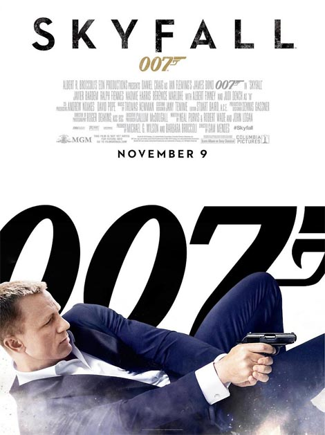 Skyfall, the new James Bond film