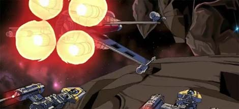 Star Wars anime.