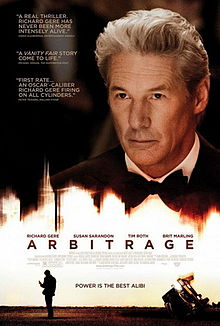 Arbitrage movie review.