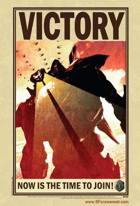 Pacific Rim movie poster.