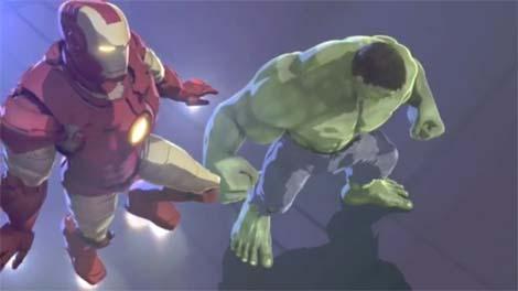 Iron Man & Hulk: Heroes United animated movie.
