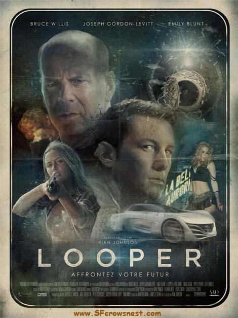 Looper poster in France.