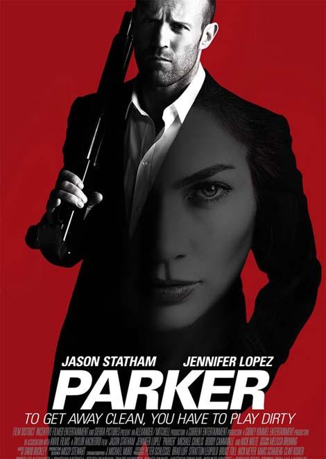 Parker movie trailer.