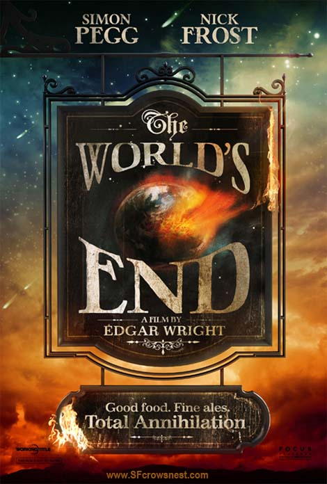 The World's End movie poster.