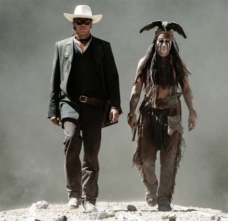 Trailer for the Lone Ranger film.