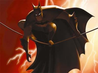 Beware The Batman trailer.