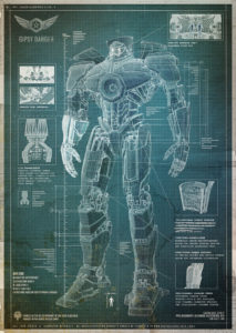 Pacific Rim big robot