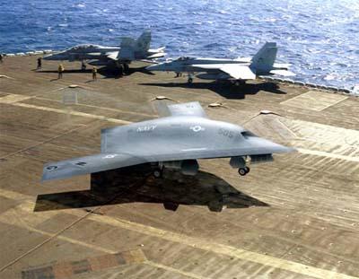 X-47B Terminator future.