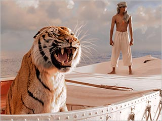 Life Of Pi (a film review by Mark R. Leeper).