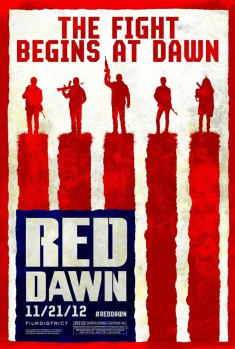 Red Dawn rebooted film poster.
