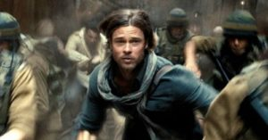 World War Z (a film review by Mark R. Leeper).