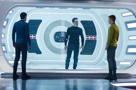 Star Trek Into Darkness… does Superbowl.