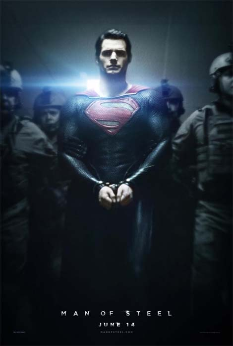 Man of Steel poster.