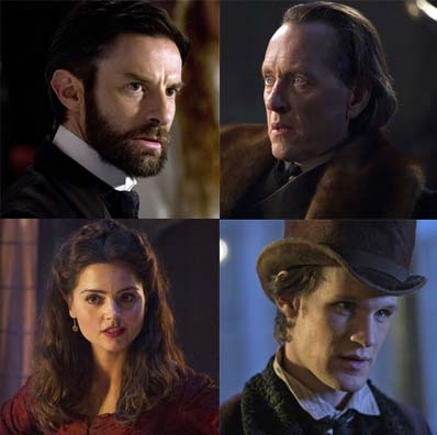 Matt Smith,Jenna-Louise Coleman, Richard E Grant and Tom Ward chat about their roles in this month's Doctor Who Christmas Special.