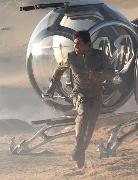 Oblivion... why you run so hard, Tom Cruise?