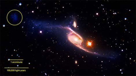 Spiral Galaxy? It's big... damn big!