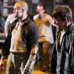 Walking Dead 3rd season… Merle versus Daryl smackdown.