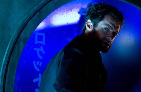 The Wolverine... looking mean.