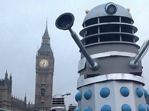 Dalek Invasion with Mark Gatiss.