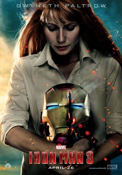 Iron Man 3... Pepper Potts gets a-head?