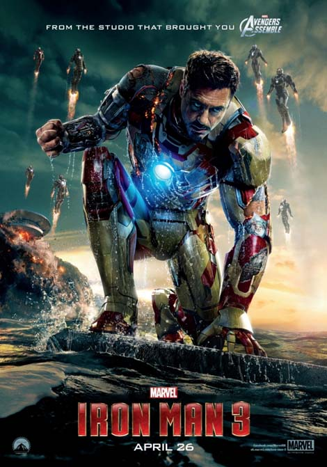 Iron Man 3... seeing double, triple...?