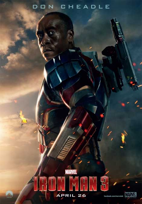 Iron Man 3... or Iron Patriot 1?