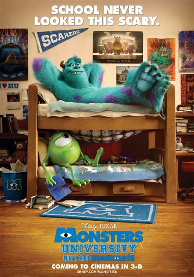 Monsters University... being young(er) can be scary.