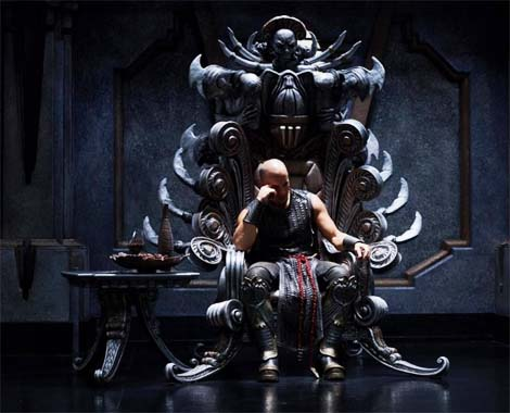 Riddick Rule the Dark… featurette.