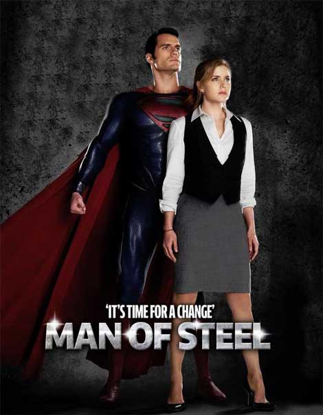Man of Steel... looking steel-y.