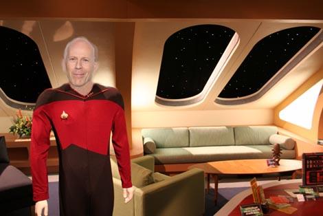 Star Trek Next Generation reboot: Bruce Willis to play Picard.