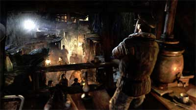 Metro: Last Light... the sounds of the underground.