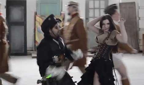 Steampunk style... Gangnam style!