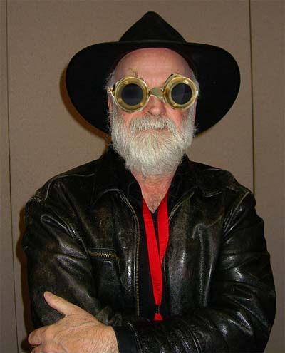 Terry Pratchett... not so secret steampunk.