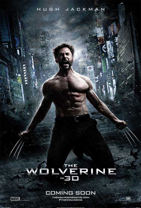 The Wolverine... still looking mean.
