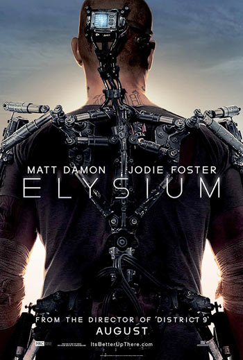 Elysium trailer - what District 9's Neill Blomkamp can do on big bucks. Wow!