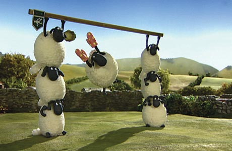 Shaun The Sheep... setting a high bah?