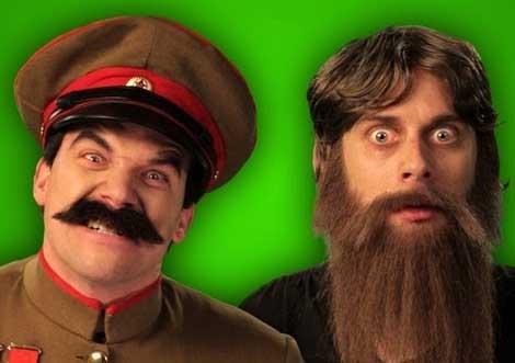 Rasputin versus Stalin, rap-stylee.