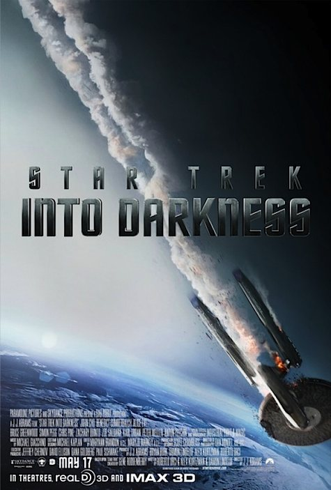 Star Trek Into Darkness... Enterprise down.
