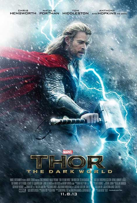 Thor The Dark World... 1st trailer thunders in.