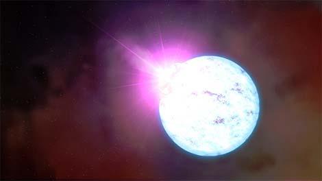 NASA'S Swift Reveals New Phenomenon in a Neutron Star