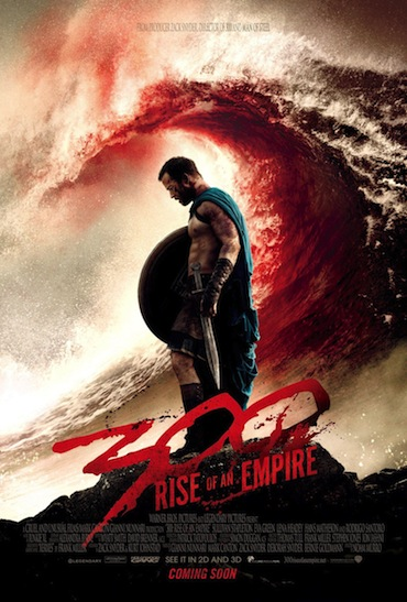 300 Rise of an Empire... first poster.