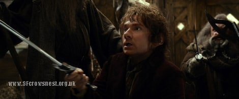 MARTIN FREEMAN as the Hobbit Bilbo Baggins